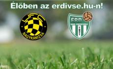 FC Nagykanizsa–Érdi VSE – élő!