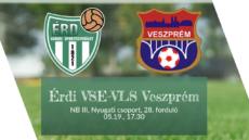 Érdi VSE–VLS Veszprém – élő!
