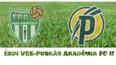 Érdi VSE-Puskás Akadémia FC II – élő!