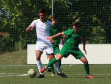 Két perc alatt két gólt lőtt, de ikszelt az U19